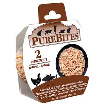 Picture of FELINE PUREBITES TUNA & CHICKEN BREAST in WATER - 12 x 50g