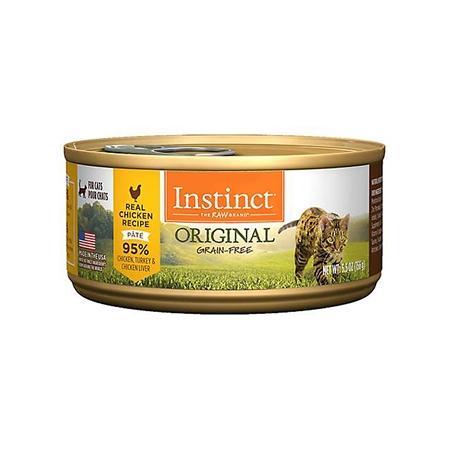 Picture of FELINE INSTINCT Original Recipe Beef Pate - 12 x 156g cans