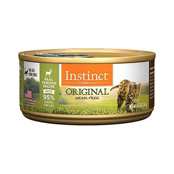 Picture of FELINE INSTINCT Original Recipe Venison Pate - 12 x 156g cans