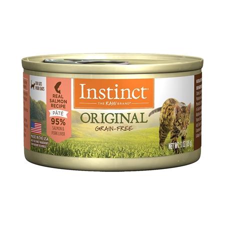 Picture of FELINE INSTINCT Original Recipe Salmon Pate - 24 x 85g cans