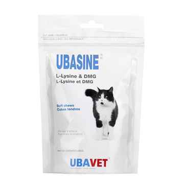 Picture of UBAVET UBASINE L-LYSINE & DMG SOFT CHEWS - 120s