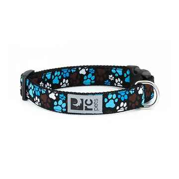 Picture of COLLAR RC CLIP Adjustable Pitter Patter Chocolate (Sizes Available)