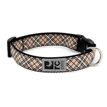 Picture of COLLAR RC CLIP Adjustable Tan Tartan (Sizes Available)
