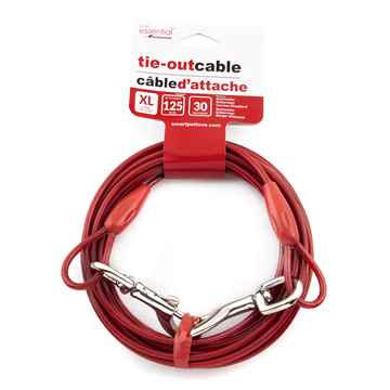 Picture of TIE OUT CABLE Simply Essential X-Large Red - 30ft