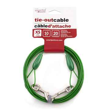 Picture of TIE OUT CABLE Simply Essential Green X-Small - 20ft