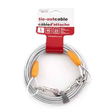 Picture of TIE OUT CABLE Simply Essential Large Silver - 25ft
