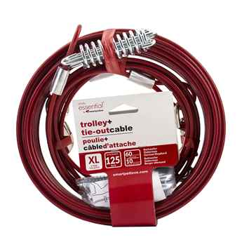 Picture of TIE OUT 60 FOOT X-Lrg Trolley with 10 Foot Tie Out Cable