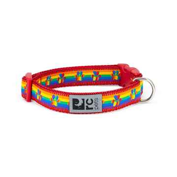 Picture of COLLAR RC CLIP Adjustable Rainbow Paws (Sizes Available)
