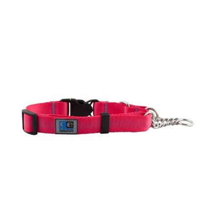 Picture of COLLAR CE QUICK RELEASE MARTINGALE Raspberry - 1in x 14-18in