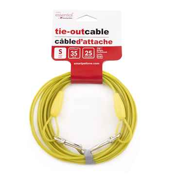 Picture of TIE OUT CABLE Simply Essential Yellow Small - 25ft