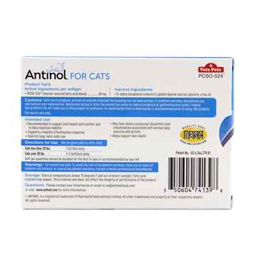 Picture of ANTINOL for CATS - 60s