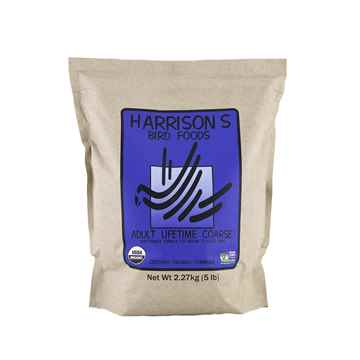 Picture of AVIAN ADULT LIFETIME FORMULA COARSE GRIND - 5lb(HARRISON)(su6)