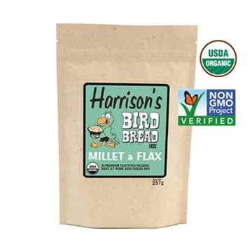 Picture of AVIAN BIRD BREAD MIX Millet & Flax - 257g (HARRISON)(su6)