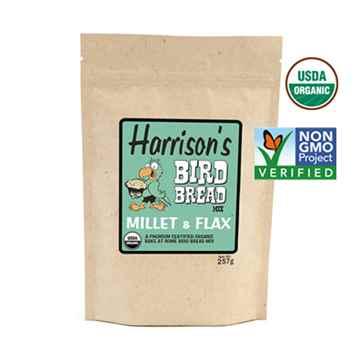 Picture of AVIAN BIRD BREAD MIX Millet & Flax - 257g (HARRISON)(su6)(tp)