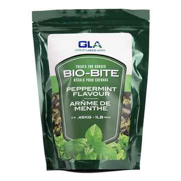 Picture of BIO-BITE HORSE TREATS Peppermint Flavor - 1lb