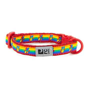 Picture of COLLAR RC CAT BREAKAWAY Rainbow Paws - One Size