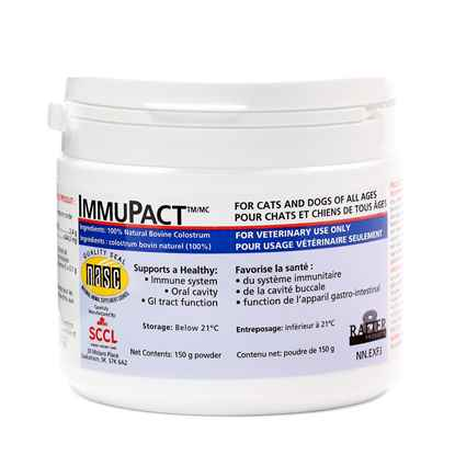 Picture of IMMUPACT COLOSTRUM SUPPLEMENT FOR PETS - 150gm