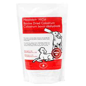 Picture of HEADSTART HI CAL COLOSTRUM 100gm IgG for LAMB & KID - 700gm