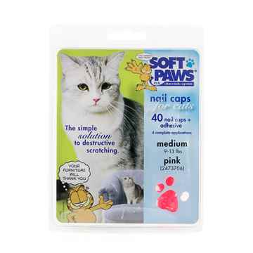 Picture of SOFT PAWS TAKE HOME KIT FELINE LARGE - Pink
