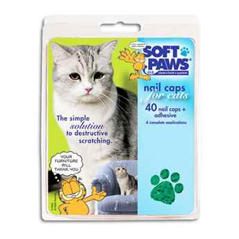 Picture of SOFT PAWS TAKE HOME KIT FELINE LARGE - Green