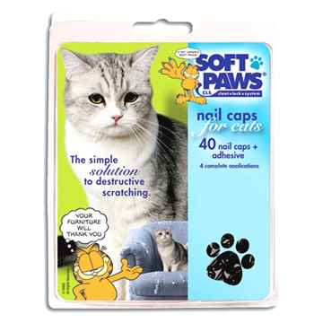 Picture of SOFT PAWS TAKE HOME KIT FELINE SMALL - Black
