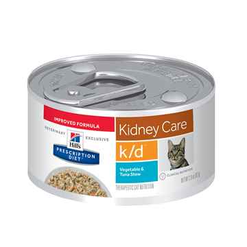 Picture of FELINE HILLS kd RENAL HEALTH VEG TUNA & RICE STEW - 24 x 2.9oz