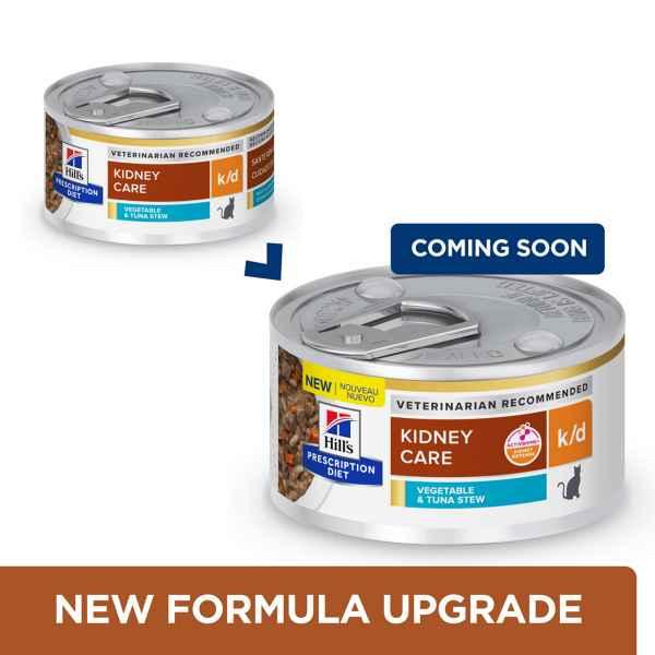 Picture of FELINE HILLS kd RENAL HEALTH VEG TUNA & RICE STEW - 24 x 2.9oz