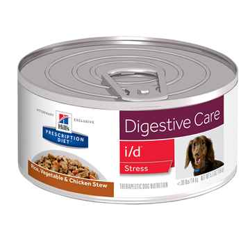 Picture of CANINE HILLS id DIGESTIVE CARE STRESS RICE & CHIC STEW - 24 x 5.5oz(tu)