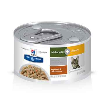 Picture of FELINE HILLS METABOLIC + URINARY CHICKEN STEW - 24 x 2.9oz(tu)