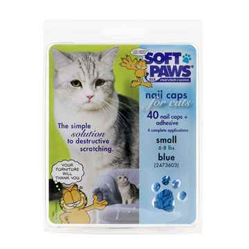 Picture of SOFT PAWS TAKE HOME KIT FELINE SMALL - Blue