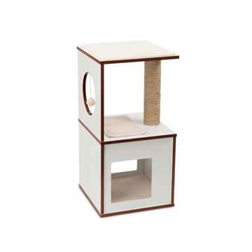 Picture of CAT FURNITURE VESPER V-BOX Small White
