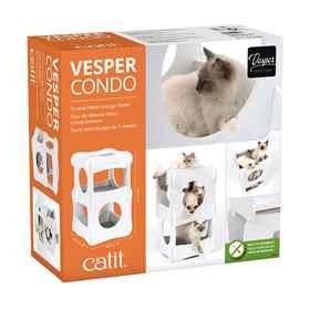 Picture of CAT FURNITURE VESPER CONDO 3 LEVEL RETRO LOUNGE TOWER