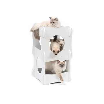 Picture of CAT FURNITURE VESPER CONDO 3 LEVEL RETRO LOUNGE TOWER