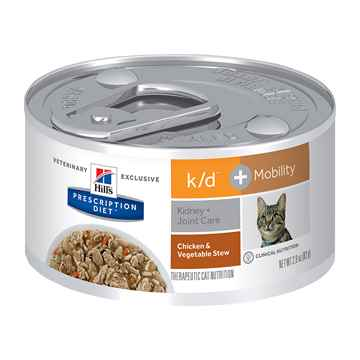 Picture of FELINE HILLS kd + MOBILITY CHICKEN & VEG STEW - 24 x 2.9oz(tu)