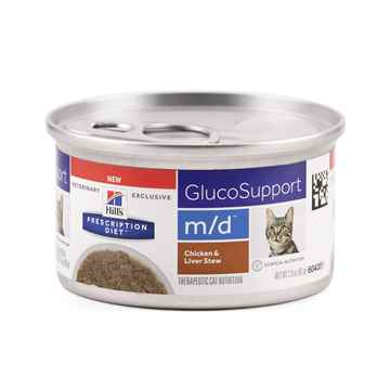 Picture of FELINE HILLS md GLUCOSUPPORT CHICKEN & LIVER STEW - 24 x 2.9oz
