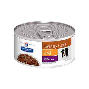 Picture of CANINE HILLS kd RENAL HEALTH BEEF & VEG STEW - 24 x 5.5oz