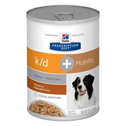 Picture of CANINE HILLS kd + MOBILITY CHICKEN & VEG STEW - 12 x 12.5oz(tu)