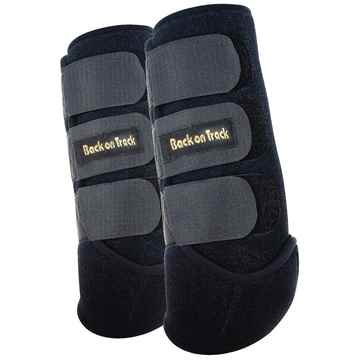 Picture of BACK ON TRACK EXERCISE BOOTS HIND BLK MEDIUM