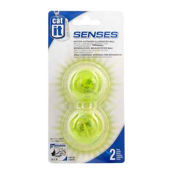 Picture of CATIT DESIGN SENSES Speed Circuit Illuminated Balls (50776)- 2/pk