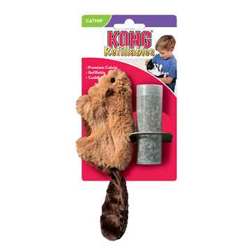 Picture of TOY CAT KONG Catnip Beaver (NB44)