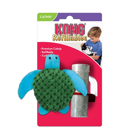 Picture of TOY CAT Kong Catnip Turtle (NT43)