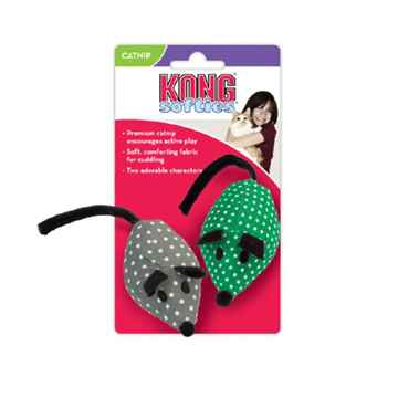 Picture of TOY CAT KONG Softies Catnip Mice Assorted Colors - 2/pk