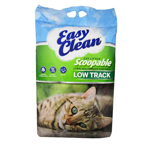 Picture of CAT LITTER PESTELL CLAY CLUMPING LOW TRACK(UNSCENTED) - 20lb