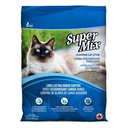 Picture of CAT LITTER CAT LOVE SUPER MIX CLUMPING - 40lb