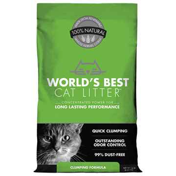 Picture of CAT LITTER WORLDS BEST(KERNEL CORN) Original Clumping - 14lbs