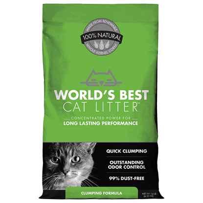 Picture of CAT LITTER WORLDS BEST(KERNEL CORN) Original Clumping - 14lbs