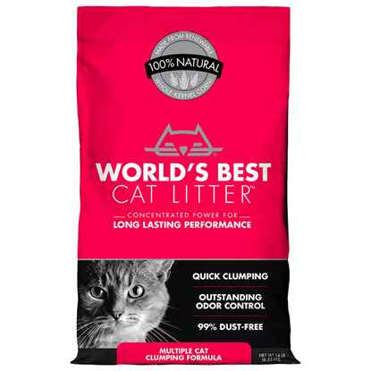 Picture of CAT LITTER WORLDS BEST(KERNEL CORN) Multiple Cat Clumping - 14lbs