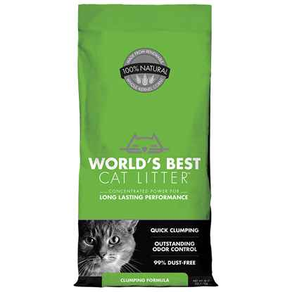 Picture of CAT LITTER WORLDS BEST(KERNEL CORN) Original Clumping - 28lbs
