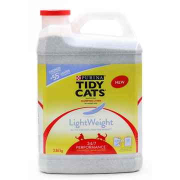 Picture of CAT LITTER TIDY CAT 24/7 PERFORMANCE LIGHT WEIGHT - 3.86kg