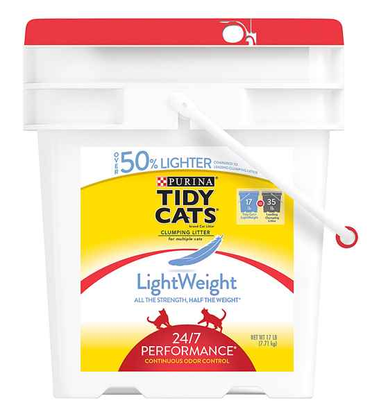 Picture of CAT LITTER TIDY CAT 24/7 PERFORMANCE LIGHT WEIGHT - 7.71kg
